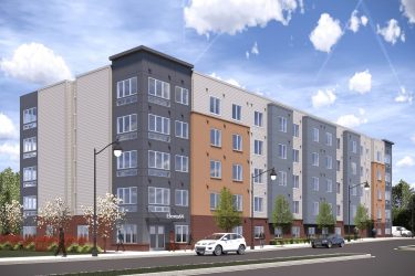 Eleven64 exterior rendering